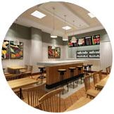 学员独立开店,免费提供店铺装修以及运营全方位指导。